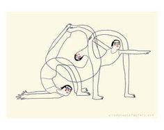 yoga mini poster - beyond your flexibility - poster - yoga illustration - yoga drawing - yoga postures - mini-poster -digital print Mini Poster, A4 Poster, Bikram Yoga, Ashtanga Yoga, Yoga Kunst, Yoga Drawing, Yoga Illustration, Different Types Of Yoga, Yoga Lessons