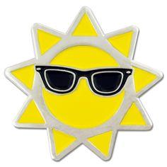 Cool Sun Lapel Pin | PinMart