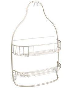 Interdesign Nogu Wide Nesting Shower Caddy - Satin Nogu