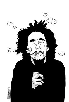 (notitle) Soon Come Art Sketches, Art Drawings, Bob Marley Art, Rasta Art, Reggae Style, Marijuana Art, Shiva Art, Stoner Art, Weed Art