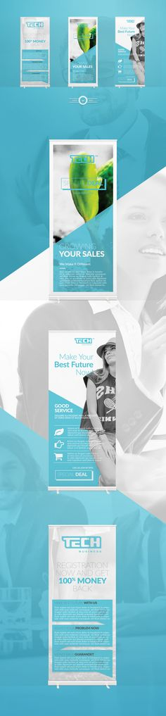 Corporate Ads Banner on Behance