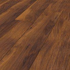 Krono Original Vintage Classic Red River Hickory 8156 Laminate Flooring - All Brands - By Brand - Laminate Hardwood Floors, Bauhaus, Underfloor Heating Systems, Hickory Wood, Original Vintage, Floor Colors, Red River, Flats