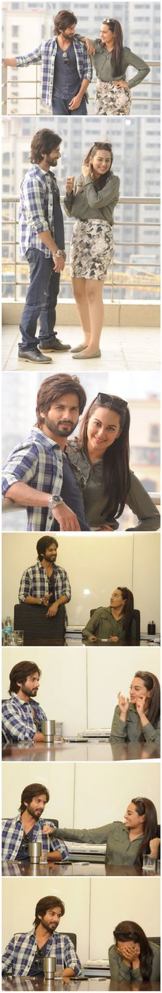 'R...Rajkumar' is Sonakshi Sinha's best role after 'Dabangg', says Shahid Kapoor