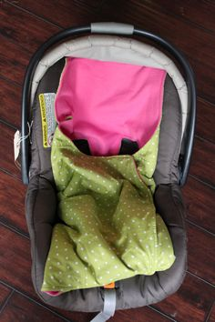 Car Seat Cozie Blanket