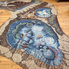 New #mosaic #rockpool complete for #california seashore project