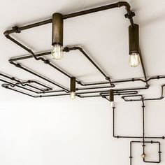 Be creative with Sistema Canaline by Il Fanale Craftsmanship and customization are embodied in Sistema Canaline: this lighting system, available both in brass and antiqued brass, thanks to its modularity allows plenty of lighting solutions. Lighting System, Lighting Solutions, Track Lighting, Antique Brass, Ceiling Lights, Antiques, Creative, Interior, Home Decor