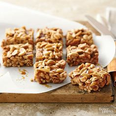 Our delicious caramel apple bars recipe takes only 25 minutes to prepare and makes a great on-the-go breakfast, easy dessert, or afternoon snack. These no-bake bars include peanut butter, apple cinnamon Cheerios, dried apples, and salted peanuts.