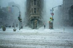 Check Out the Most Beautiful Photo from This Past Weekend's NYC Snowstorm You'll Ever See | spoiled NYC