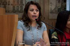 Delegada Karen Cristina Lopes - convidada do VII Papos & Ideias Direitos em Debate - http://www.nominuto.com/sermidia/estudantes-de-direito-realizam-vii-papos-ideias-direitos-em-debate-neste-sabado/8719/