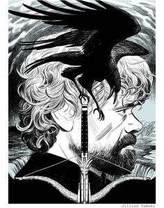 Game of Thrones by Jillian Tamaki / Tumblr | XombieDIRGE