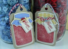 Great canning tags from Hairchick!