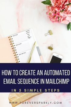 How to Create an Automated Email Sequence in Mailchimp Email Marketing Design, Email Marketing Campaign, Email Marketing Strategy, E-mail Marketing, Marketing Automation, Set Up Email, Direct Sales Tips, Facebook Business, Online Business
