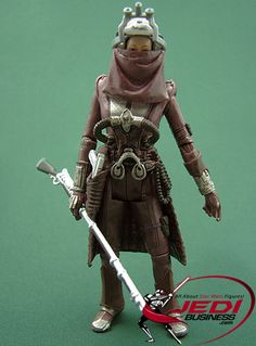 Star Wars Action Figure Zam Wesell (Attack Of The Clones), Star Wars The Vintage Collection