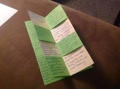 """Learn how to make this awesome foldable with a """"magic"""" center with your students! It's a perfect way to liven up boring notes that you want students to keep."""