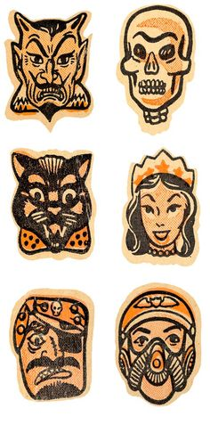 With Halloween just around the corner, we thought we'd share some fun vintage masks that you can print out at home! Check out these great sites for more, and be sure to follow our pinterest b…