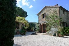 Il Fontanaro Organic Farm House, Paciano Italy.