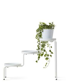 Ikea Ps 2014 Plant Stand, White Indoor/outdoor, White