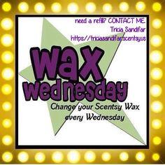 Wax Wednesday ... #scentsy #independantconsultant #wickless #flameless #warmers #fragrance #wax #scentcircles #roomspray #layers #sotm #wotm #warmerofthemonth #scentofthemonth #fragrantedwax #traveltin #layersbyscentsy #handsanitizer #laundry #bath #mixyourmelts #mixwaxes #makeyourownfragrance #mixwax https://triciasandifar.scentsy.us