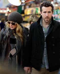 <3 Blake Lively and Ryan Renolds together!