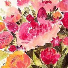 aquarell watercolor flowers Art Flowers, Watercolor Flowers, Flower Art, Painting, Jewelry, Watercolors, Watercolor, Flowers, Art Floral