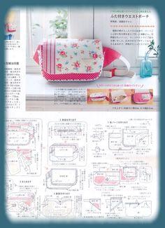 DONACHICA PATCHWORK: Pochet de tecido