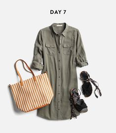 I'm really into this Army Green thing, especially in something unusual like a dress or romper type thing, but my favorite are mid-rise skinny jeans or capris!!!