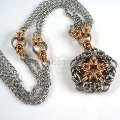 Starburst necklace   C&T Designs