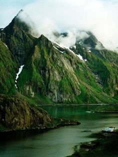 Scandinavia, Norway, Lofoten Photograph by W. Krecichwost     Cathy,   This is where some of our ancestors are from !
