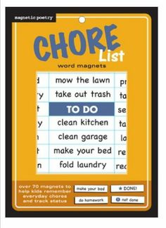 Magnetic Poetry Fridgelife Chore Magnets. Flat Pack. 3306 Magnetic Poetry,http://www.amazon.com/dp/B007FTU0D6/ref=cm_sw_r_pi_dp_QAZgtb1V6Z1N09WE