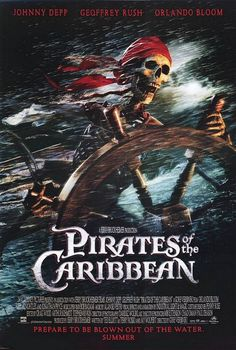 Pirates of the Caribbean: The Curse of the Black Pearl Movie Poster - Internet Movie Poster Awards Gallery