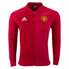 Manchester United 16/17 Home Anthem Jacket  | $89.99 | Holiday Gift & Stocking Stuffer ideas for the Manchester United FC fan at WorldSoccerShop.com