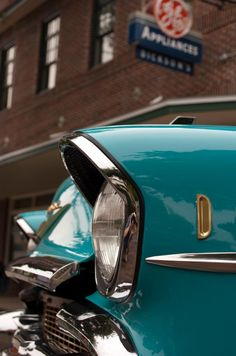 There's something beautiful about an old Chevy.