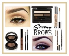 """frame me"" by kidrauhl6 ❤ liked on Polyvore featuring beauty, Clé de Peau Beauté, Anastasia Beverly Hills, Hello Kitty, Urban Decay, Clarins and Lord & Berry"
