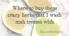 Where you can buy all the ingredients you need to make a mean, green DIY herbal shampoo recipe - with bulk options.