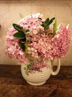 Lovely cut Hydrangea...pretty pink (1) From: Nostalgia at The Stone House - My Creations, please visit