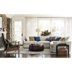 """Udan Round Coffee Table 
