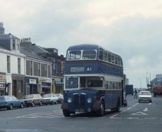 Ayrshire: A1 Service to Ardrossan. (Guy Lowlander) Routemaster, Take The High Road, Thing 1, Local History, Scotland, Transportation, Nostalgia, Old Things, Deck
