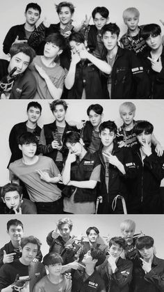 Exo Group Photo, Got7, Exo Album, Exo Lockscreen, Exo Fan Art, Baekhyun Chanyeol, Exo Ot12, Kpop Exo, Bts And Exo