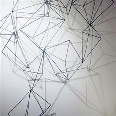 Wire Prism Wall Art