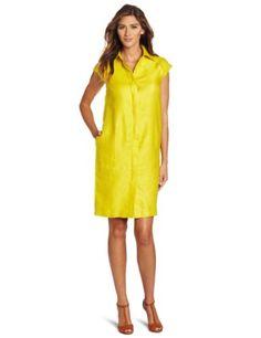 Jones New York Women`s Button Front Dress
