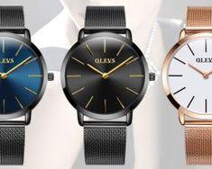 23c65533fb1d Elegantné dámske hodinky Olevs v troch rôznych prevedeniach