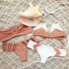Beach Boho :: Bikini :: Swimsuits :: Bohemian Summer :: Free your Wild :: See more Untamed Beach Style Inspiration @untamedmama