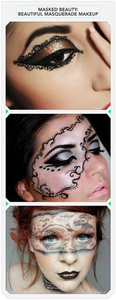 Beautiful Masquerade Makeup