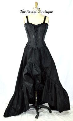 https://www.etsy.com/listing/174964126/black-romantic-victorian-corset-dress?