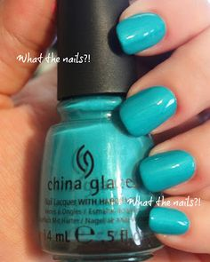 China Glaze Turned up Turqouise