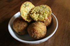 Arroz con Pollo Balls - Sounds delicious and fun.  If I was a kid I would start throwing these at my siblings.