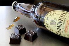 Guinness Chocolate Beer Truffles