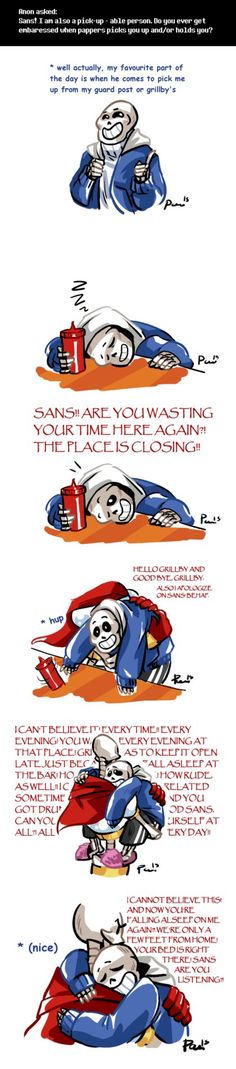 Undertale ask blog: a pick-up-able person by bPAVLICA on DeviantArt