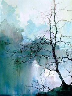 Best Watercolor Landscape Paintings By Z.L.Feng