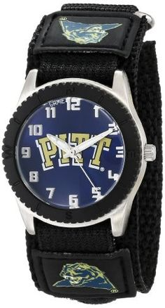 """Game Time Unisex COL-ROB-PIT """"Rookie Black"""" Watch - Pittsburgh"""
